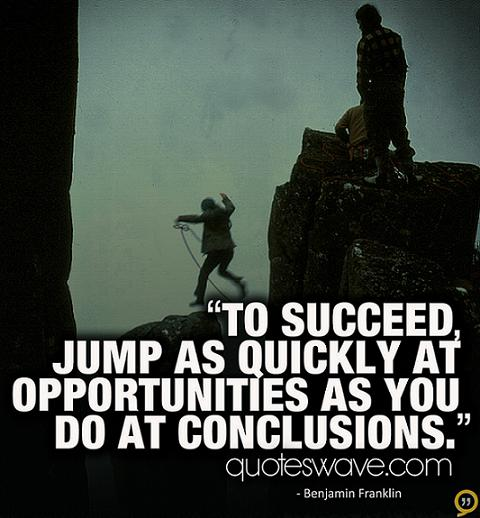 Quotes About Jumping To Conclusions 60 Quotes Cool Jumping To Conclusions Quotes