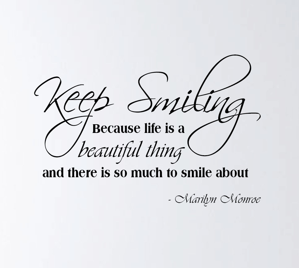 Quotes About Keep Smile 56 Quotes