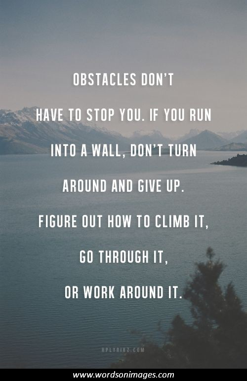 obstacles in achieving dreams What is the greatest present obstacle to the the greatest obstacle to achieving the american dream is the gradual disappearance of the middle class and.