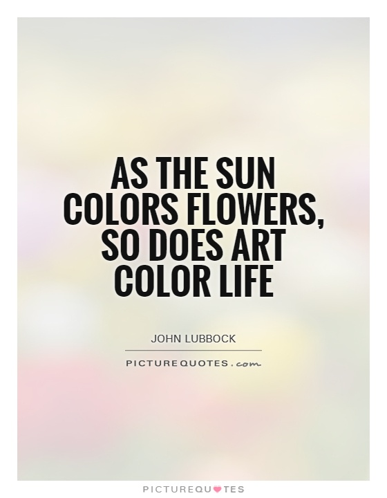 Love and colour quotes
