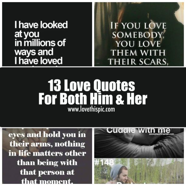 Quotes About Both In Love 302 Quotes