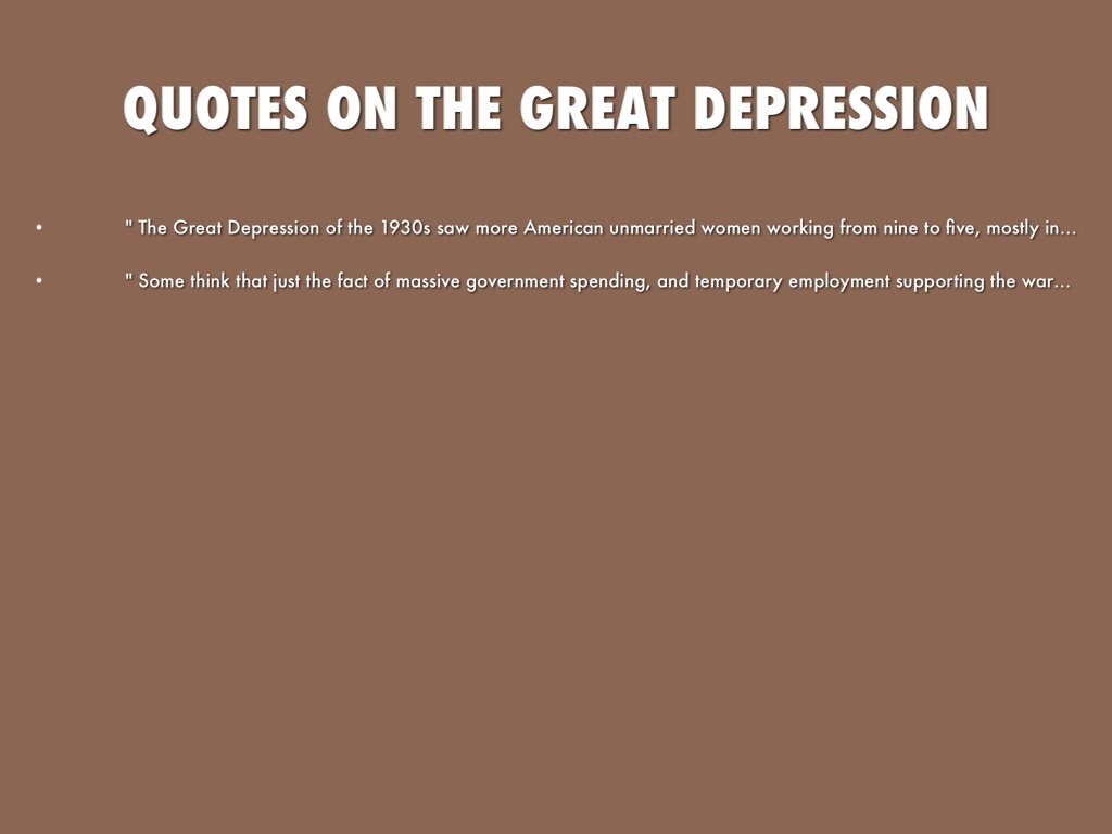the great depression includes quotes background Huey long quotes, pictures, biography huey long's share our wealth political movement swept the nation during the great depression  — huey long, on.