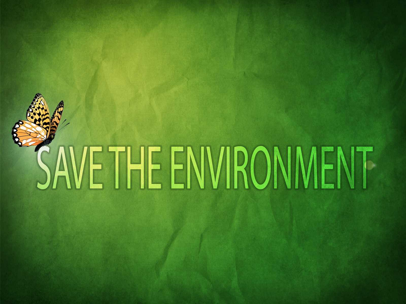 we must fit out technology to ecology