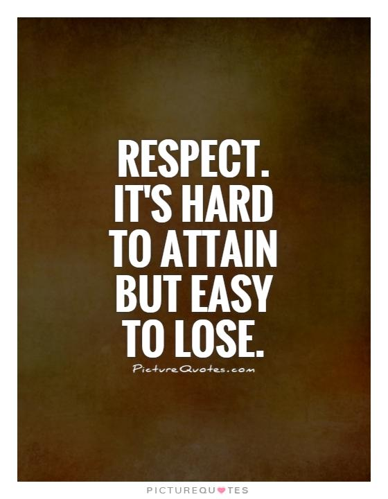 Quotes About Respect In Sports 60 Quotes Magnificent Quotes Respect