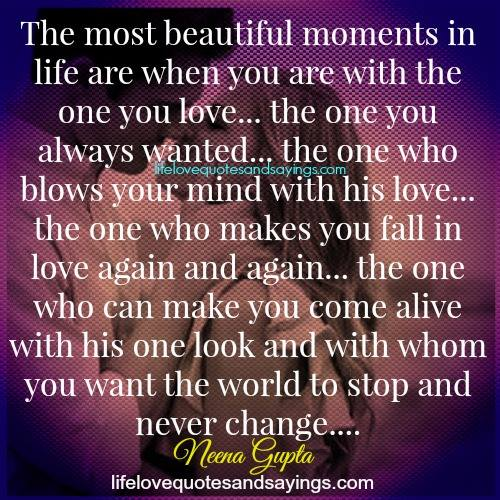 Quotes About Beautiful Moments 99 Quotes