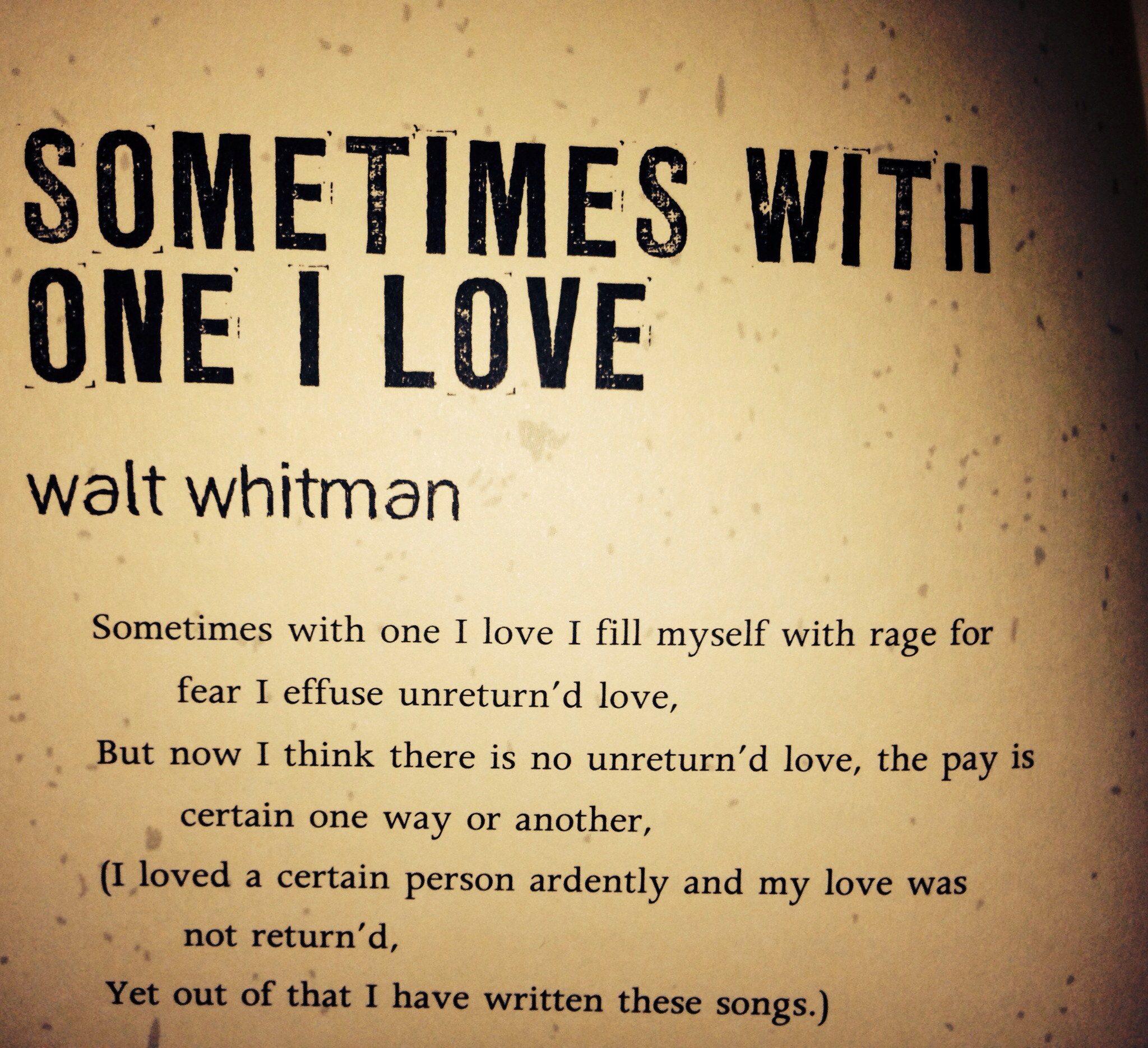 the early life and poetry of walt whitman