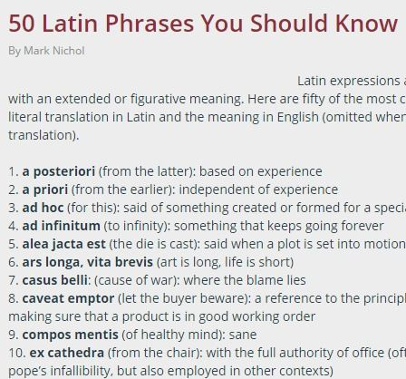 Quotes About Learning Latin 60 Quotes Awesome Latin Quotes