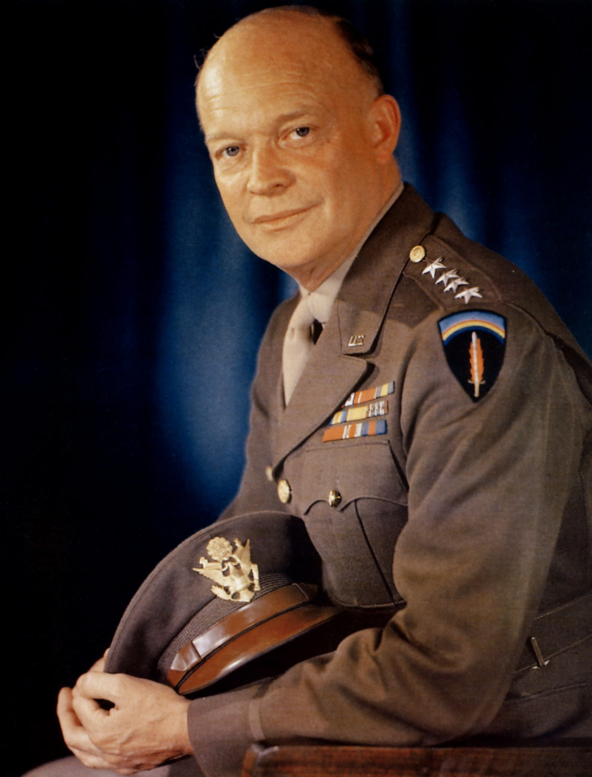 an introduction to the life of dwight ike eisenhower the 34th president of the united states