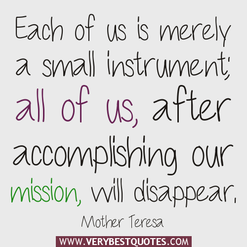 Quotes About Accomplishing The Mission (29 Quotes
