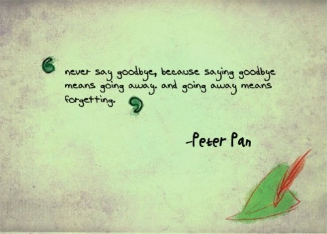Quotes about peter pan