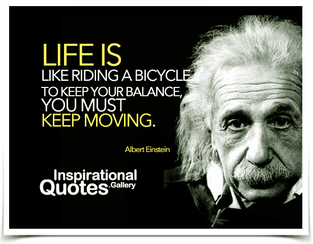 life is like riding a bicycle essay