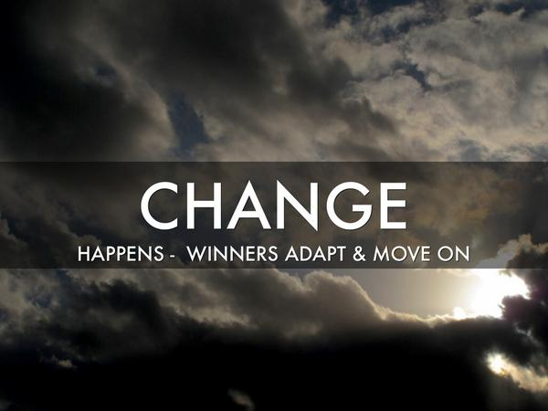 change and adapt With more uncertainty and complexity, we get more change here are 6 tips to help you adapt to change in the workplace and get back control.