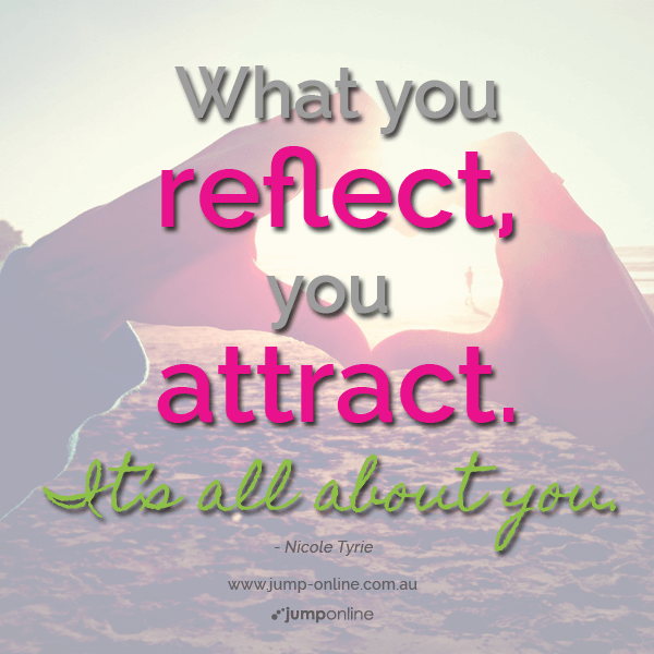 you are what you attract