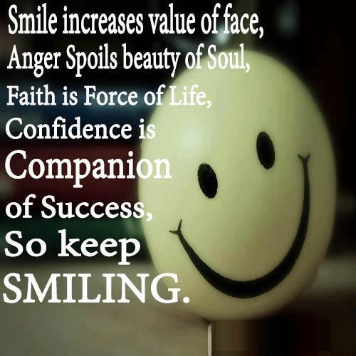 the value of a smile Share the best smile quotes collection with funny, inspirational, and motivational quotations on smiles and the power of smiling, by famous authors.
