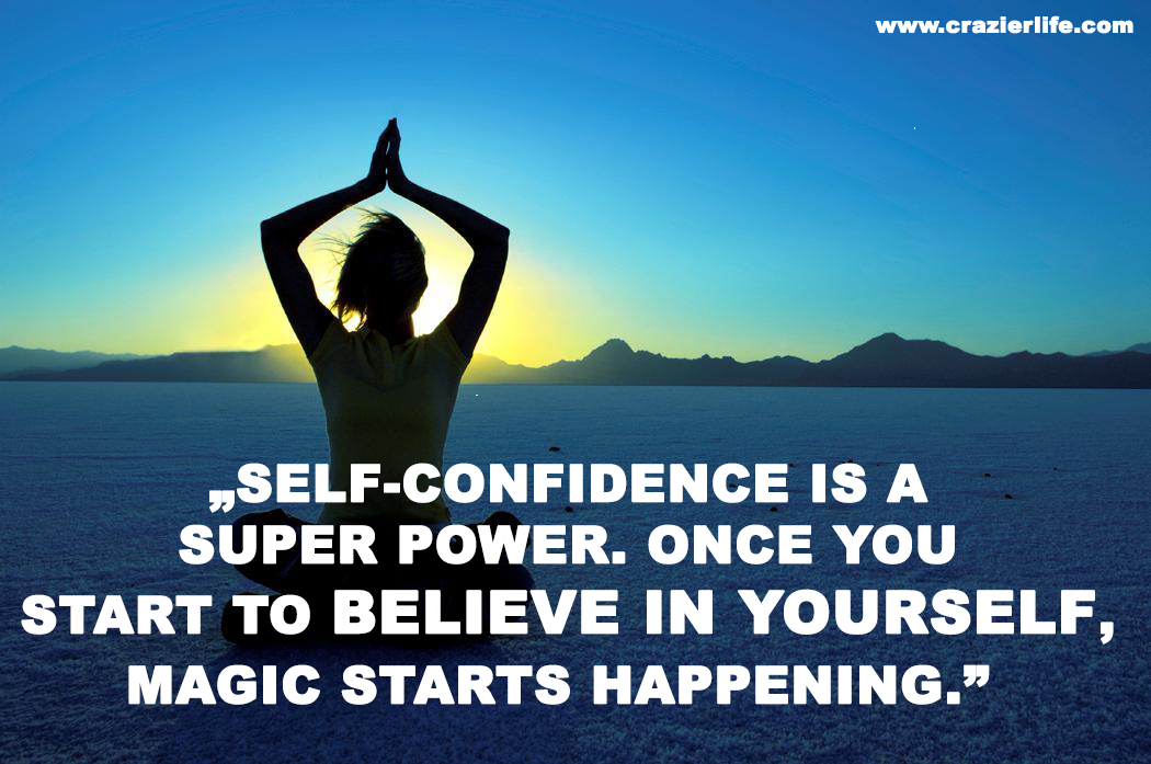 the importance of moving towards self confidence in achieving various goals Smaller steps become giant strides of momentum if you keep moving forward towards your goals if you stop or quit, you must find the motivation to start again and create new habits from scratch.