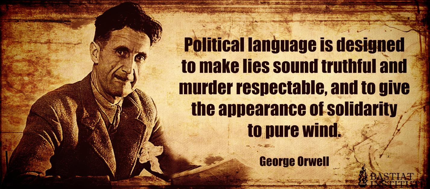 orwell essays on politics