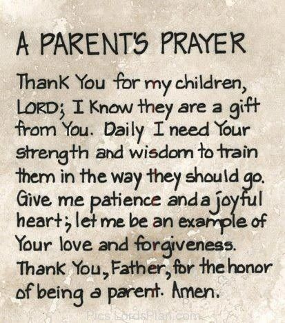 Christian quotes for parents