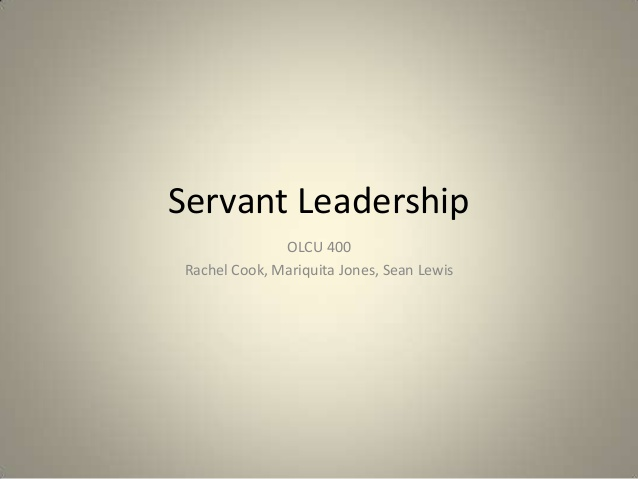 servant leadership not for all companies essay