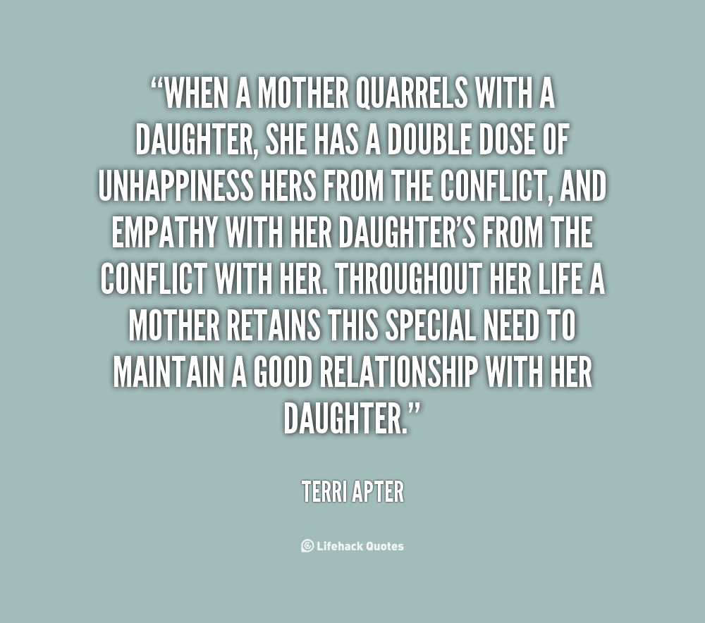 Quotes About Mother Daughter Relationship 35 Quotes