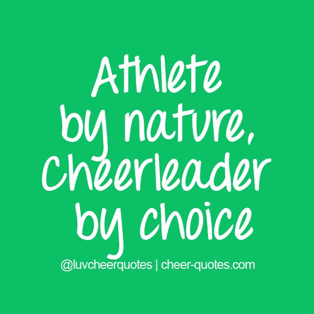 Cheerleading quotes for signs