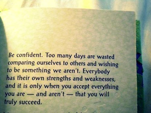 confidence how to succeed at being yourself