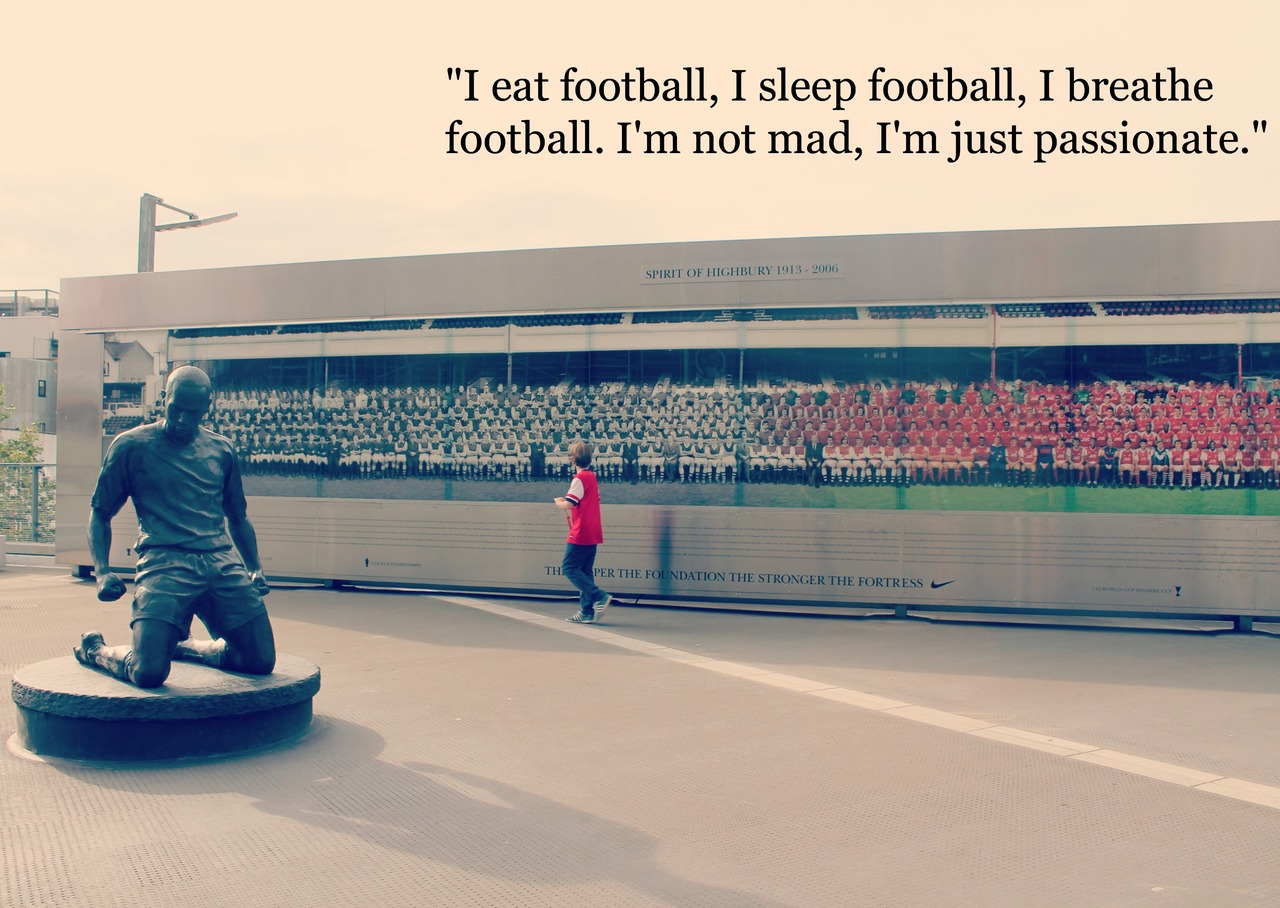 Quotes About Football Passion 44 Quotes