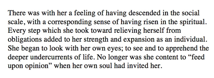 contradictory impulses in chopins the awakening essay Chapter vi, page 1: read the awakening and selected short stories, by author kate chopin page by page, now free, online the awakening.