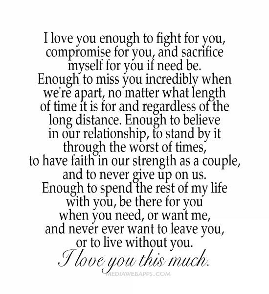 I Love You Quotes: Quotes About Relationship Compromise (35 Quotes