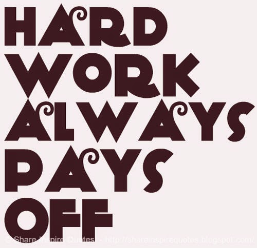 essay on hard work always pays