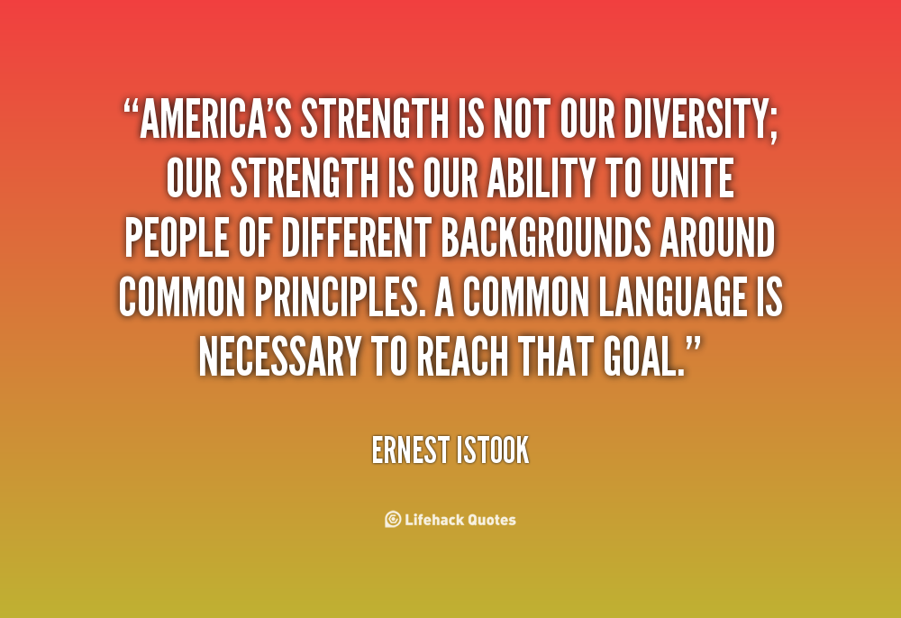Quotes On Diversity Unique Quotes About Diversity Of Thought 36 Quotes
