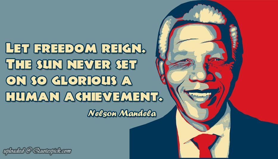 Quotes About Freedom Nelson Mandela 66 Quotes