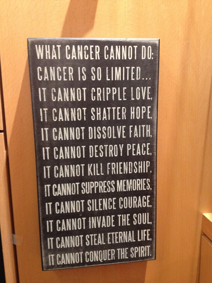 Quotes About Cancer Battle 39 Quotes