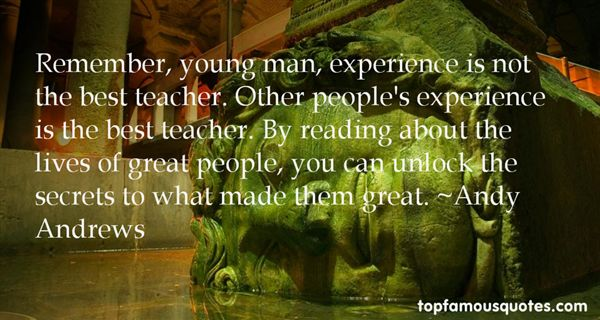 Experience is the best teacher essay