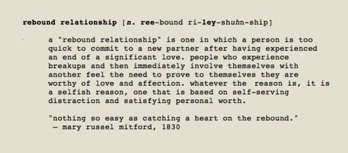 Rebounding relationship