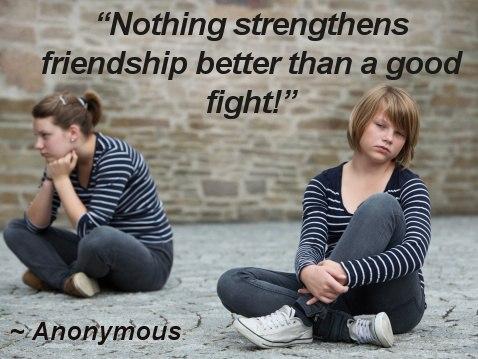 quarrel between two best friends
