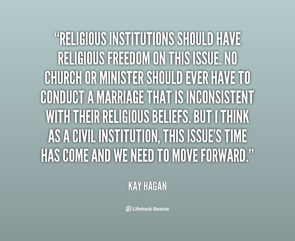 religious freedom should not be compromised at school Most states interpret freedom of religion as including the freedom of long-established religious communities to remain intact and not be destroyed by extension, democracies interpret freedom of religion as the right of each individual to freely choose to convert from one religion to another, mix religions, or abandon religion altogether.