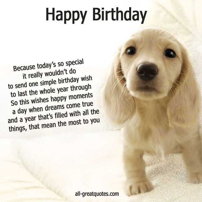 Quotes About Dogs Birthday 22
