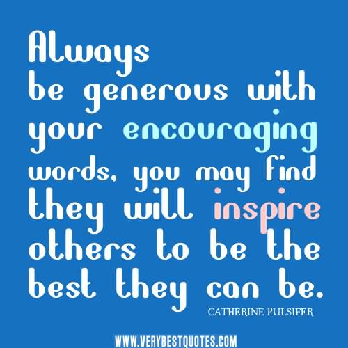 Quotes of encouragement