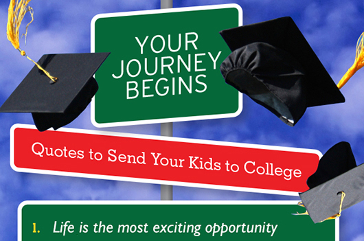 Quotes About Send Offs College 30 Quotes