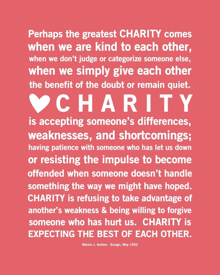 Charity Quotes   Beaufiful Charity Quotes Pictures Charity And Love Are The Same