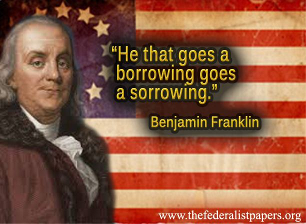he that goes a borrowing goes a sorrowing