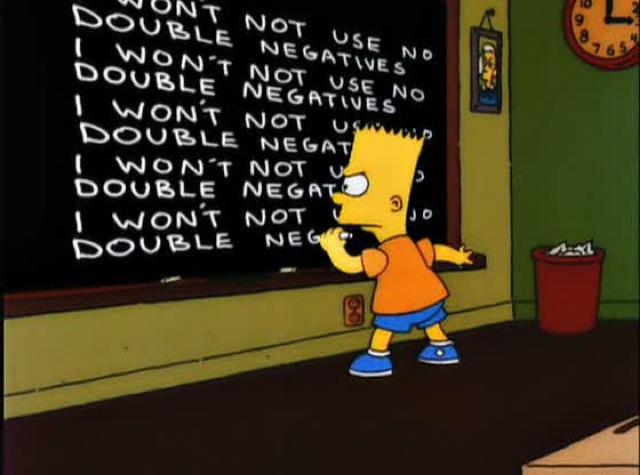 double negation