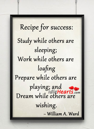 a study of success