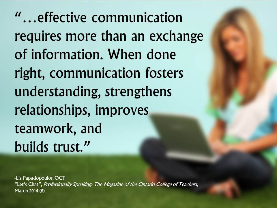 why effective communication is important in building positive relationships essay