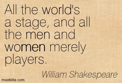 quotes about actors shakespeare 45 quotes