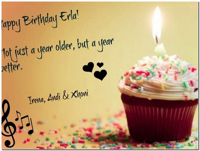 Quotes about Birthday for yourself (20 quotes)