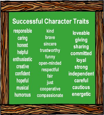 me myself and personality traits Positive personality adjectives most people would consider the character traits described by the personality adjectives below to be good or positive.