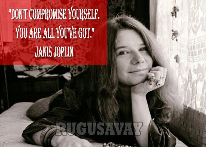 Quotes About Janis Joplin 60 Quotes Extraordinary Janis Joplin Quotes