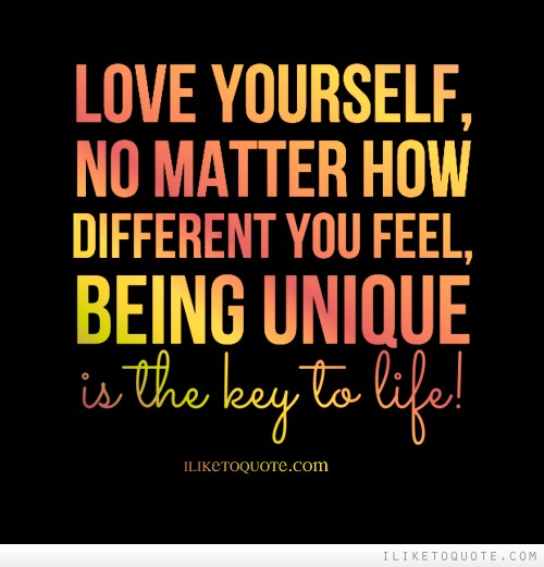 Quotes About Being Different   Quotes About Being Similar And Different 18 Quotes