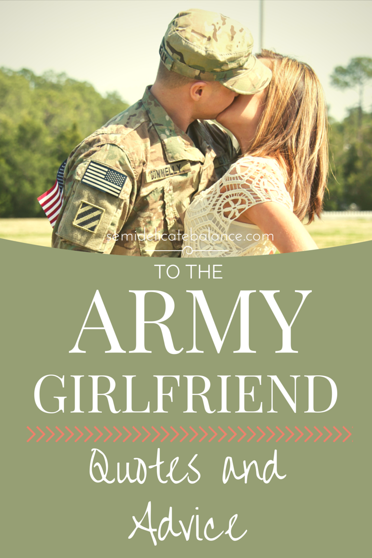 Advice on hookup a military man